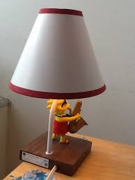 Accent Table Lamp The Simpsons Accent Table Lamp Lisa Amazon Com