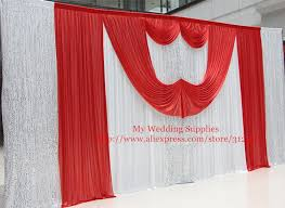 wedding backdrop aliexpress aliexpress buy wholesale and retail wedding backdrop curtain