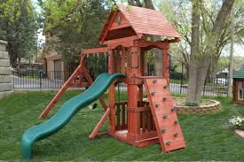 backyard playsets for any budget with easy installation
