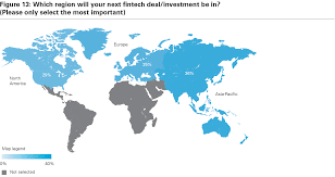 Map Of Europe And North America by Global Trends In Fintech Dealmaking White U0026 Case Llp