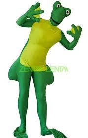 Frog Halloween Costumes Frog Costume Big Spandex Lycra Zentai Suit