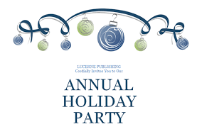 annual holiday party invitation template orax info