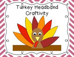 turkey headband turkey headband craftivity by time 4 kindergarten tpt
