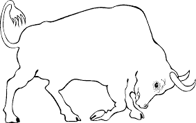 printable bull coloring pages coloring pages