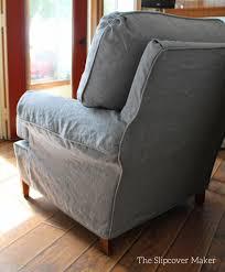 grey chair slipcovers linen slipcovers the slipcover maker