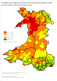 Map Of Wales Gas In Brief