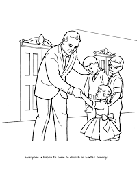 church coloring pages children church honkingdonkey