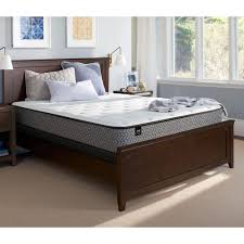 mattresses bedroom furniture the home depot response essentials 11 in queen cushion firm tight top mattress