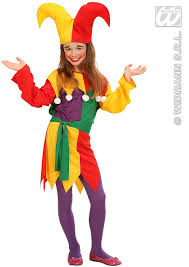 girls jester costume partyworld