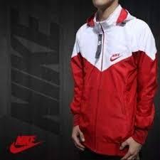Jual Jaket Nike jual jaket nike putih merah grosir jaket distro murah