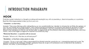 Samples Of Argumentative Essays Essay Hooks Sample Cause And Effect Essay