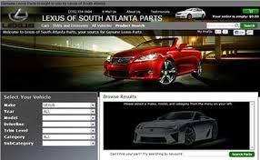 south atlanta lexus lexus of south atlanta parts 5 5 by 118 consumers
