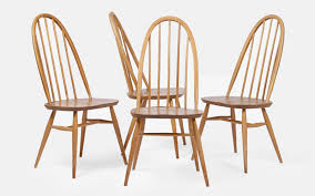Ercol Dining Chair Set Of 4 Ercol Dining Chairs The Hoarde