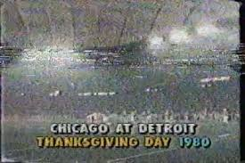 thanksgiving day 1980 shortest overtime in nfl history bears vs