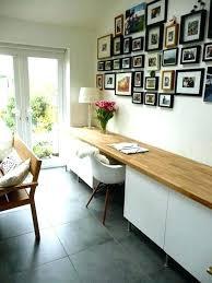 table de travail bureau fabriquer un bureau avec un plan de travail bureau plan travail