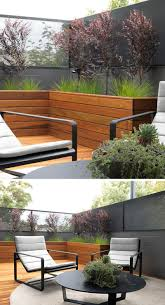 Large Tree Planters by 12 Ideas For Including Built In Wood Planters In Your Outdoor