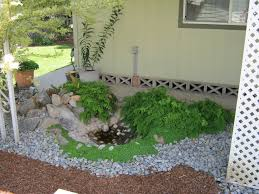 beautify your courtyard with landscape border ideas amazing home