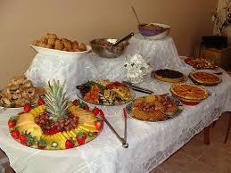 kitchen tea food ideas tropical themed food veg in vegan bridal shower brunch