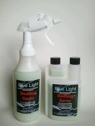 light bed bug infestation blue light bedbug spray