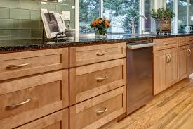 Hanssem Kitchen Cabinets by Cherry Cabinetry In Kraftmaid U0027s Cinnamon Stain Adds Warmth To This