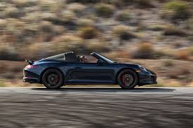 porsche night blue 2017 porsche 911 targa 4 gts first test review