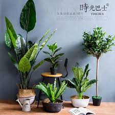 usd 17 42 nordic simulation flower banana plant potted green