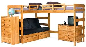full size bunk bed with desk underneath large size of loft bed