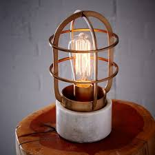 industrial cage light bulb cover mini industrial cage l west elm