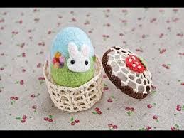 felted easter eggs easter crafts needle felted easter egg tutorial