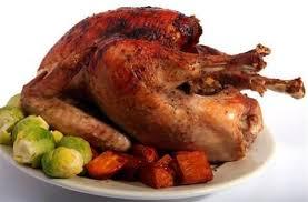 cuisiner un coq au four chapon rôti et ses choux de bruxelles