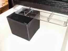 ikea skubb drawer organizer godmorgon small stuff organizer for malm 6 drawer chest ikea