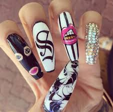 283 best nails images on pinterest stiletto nails acrylic