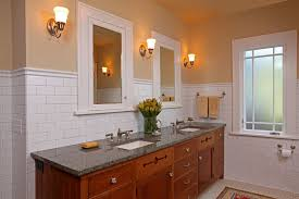 bungalow bathroom ideas craftsman bungalow bathroom design blue walls bungalow bathroom