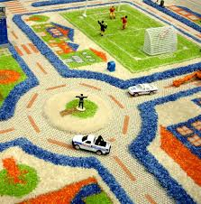 Large Kids Rug Chic And Creative Activity Rugs For Toddlers Amazing Decoration