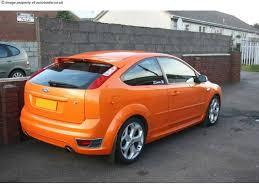 focus st orange paint code