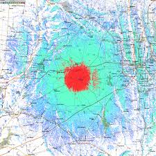 Map Of Columbus Ohio Area by Coverage Maps Ke8rv Repeater System London Oh Madison