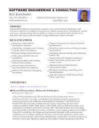 Resume For It Support Resume For Experienced Software Engineer Doc Cover Letter Doc
