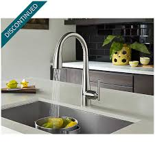 touch free kitchen faucet stainless steel lita touch free pull kitchen faucet with