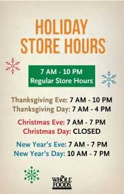store hours whole foods market