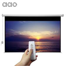 motorized home theater screen online buy wholesale motorized projector screens from china