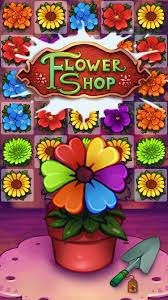 Flowershop Blossom Jam Flower Shop Match 3 Puzzle Adventure Android Apps