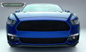 Ford Mustang Gt Black T Rex Ford Mustang Gt Laser Billet Grille Main Replacement