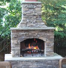 exciting and great prefabricated outdoor fireplace intended for