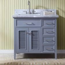 left offset sink vanity wayfair
