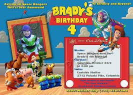 toy story birthday invitations templates free amazing