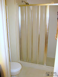 Accordion Curtain Remember That One Time We Ripped Out Our Bathroom Just A