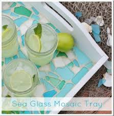 How To Refinish A Table Sand And Sisal by Diy Sea Glass Vases Sand And Sisal