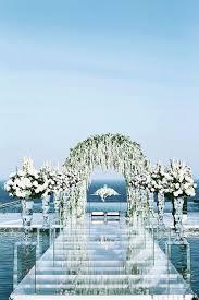 27 beautiful ocean wedding garden decor ideas for your special day