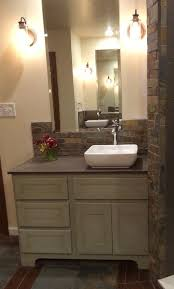 earth tone bathroom designs pretty slate tile bathroom designing tips with gray shower ideas