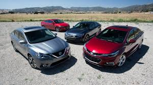 nissan sentra vs honda civic 2016 compact car comparison civic takes on cruze elantra sentra